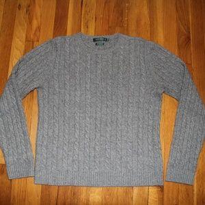 Lauren Ralph Lauren Cashmere Crew Neck Sweater L